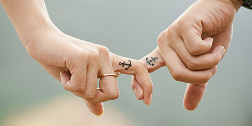 Bague de mariage dans quelle main