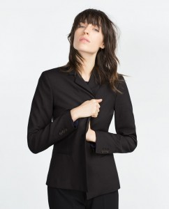 blazer business zara