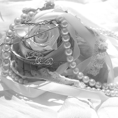 Parure perles mariage